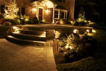 Lighting / Nights are more enjoyable with sophisticated exterior lighting.