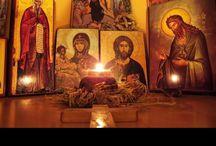 Orthodox corners/ home altars