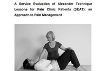 Research / Research showing the benefits of the Alexander Technique