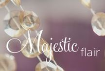 Majestic Flair- Memorable Moments Signature Wedding Collection, by Karisma™ / An Impressive Occasion Discover the vibrant splendor of this rich collection that will sweep you and your guests off your feet. The beauty of this lush experience will be rivaled only by the glory of your love.