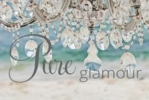 Pure Glamour- Memorable Moments Signature Wedding Collection, by Karisma™ / Classic Hollywood Encounter a dreamy atmosphere with shimmering hints in this lavish collection. This engaging affair full of extravagant details will leave you and your guests breathless. / by Karisma Weddings