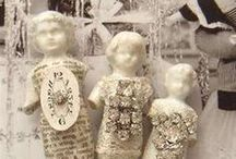 Frozen Charlottes / Frozen Charlotte is a name used to describe a specific form of china doll made from c. 1850 to c. 1920.