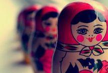 Russian Dolls / Russian dolls.