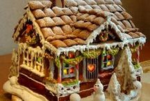 Gingerbread / constructing and decorating gingerbread products / by Jamie Anderson