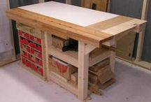WOODWORKING - WORKBENCHES / A variety of workbench designs for every shop size and taste.
