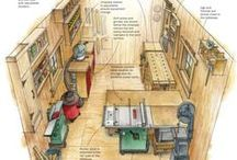 WOODWORKING - WORKSHOP LAYOUT / Ideas for the layout of your woodworking shop