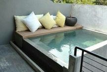swimming pools / plunge pools, natural ponds and swimming pools for any size space. Well, almost.