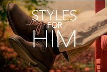 Styles for Him / Comfort and support should be a part of every man's wardrobe. See some of our favorite men's styles and find your new favorite shoe.