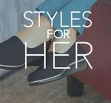 Styles for Her / Wherever life takes you, SAS wants to help you to Keep Moving™. See some of our favorite women's styles and find the perfect shoe to fit your day.