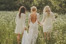 W E D | Bridesmaids + Attendants