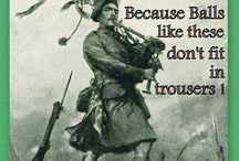 My Scottish/Irish/English Life