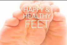Happy & Healthy Feet / They are our foundation, our support, and our literal connection to the earth. Our feet are truly important parts of our body, and we often neglect to care for them as we should. Here's a board to find and share facts and hacks to get your feet healthier and happier.