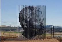 Installations & sculptures & land art