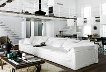 Monochrome Home / Updating spaces with sleek monochrome pieces is easier than you'd think! Contemporary and comfortable in one. / by ATGstores.com's Blogger Boards