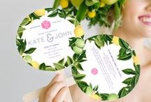Wedding Stationery / Invitations, Save the Date, RSVP's and other lovely paper products for weddings