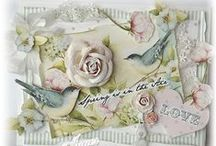 Shabby chic and Vintage cards