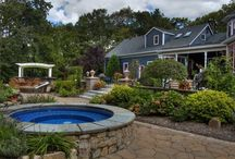 Pools, Spas and Water Features / From design to final landscaping, let Earth Turf and Blooms create a relaxing oasis on your property.