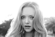Amanda Seyfried / Have you some thing with which you will be able to define beauty? For me, it is Amanda Seyfried. Model, actrisse and very fine woman.