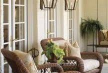 Inredingsinspiration / Visuellt eller funktionellt tilltalande bilder av vackra hem, tänkta att inspirera till val för möbler, textiler och ytmaterial i vårt nya hem.