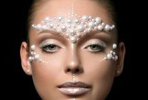 Makeup Crystals / Makeup looks enhanced with the addition of crystals and jewellery, which can take your makeup look that extra step further into art.