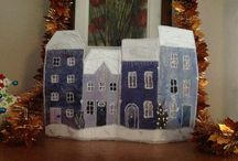Set the town alight! / A winter townscape workshop with guest tutor Anne Moore:  Paintingthetown.org.uk