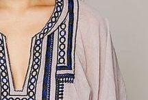 Ethnic, batik and hippie style