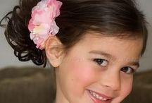 flower girl hairstyles / flower girl hairstyles