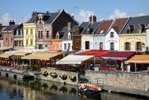 Ou bien manger à Amiens bien. / à Amiens on mange bien !