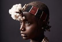African Portraits / Curated selection of Portraits from the African continent.
