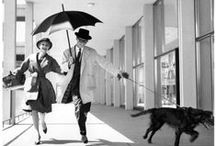 '50s inspiration / '50s, Fifties, 1950s, Retro, Vintage, Fashion, Style, Outfits, Black And White.