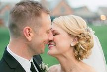 Bridal Image Bride Laurin + Thomas / Our lovely couple was featured on Style Me Pretty.