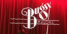 Bugsy Malone Stage Production Props Ideas & Inspiration / Bugsy Malone Stage Props and Inspiration for productions, plus general splurge fun