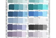paint colours / by Anna-marie Brook
