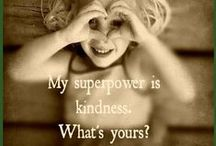 Kindness / Images that sum kindness up