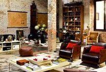 Lofts, wall, decor