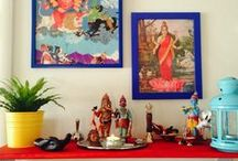 Some ideas to try / Ethnic indian decor