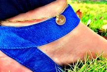 Taudrey Anklets / It just got easier to put your best foot forward. Sass up your predictable pedi with a TAudrey anklet, to which you can add some charm with a linked anchor, heart, star, or your favorite initial.