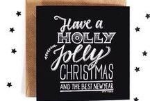 Paperfuel • Christmas / #christmas #diy #lettering #handlettering #handmade