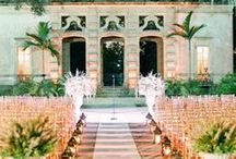 Weddings Decor Inspiration from Vizcaya / Love lives at Vizcaya Museum and Gardens. Check out photos from these Miami weddings.