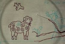 Stitcheries / Wat je al niet kunt schetsen met naald en draad.