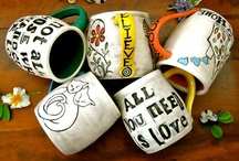 ceramic cups & mugs / cups and mugs that caught my attention / by mecki allen ceramics