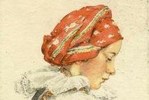 Postcards...Ilustrations - Marie Kvěchová-Fischerová / Pohľadnice, ilustrácie