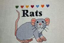 DIY for rats / Stuff I made for my pet rats ~~ Zelfgemaakte spullen voor de ratten