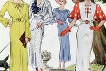1930's Sewing Patterns and Fashion / by Debra