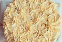 Cake Decor - Floral and Rosettes / Floral Cake Decor and Rosettes Cake Decor