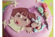 Cartoon Cakes / Inspired by all our favourite cartoon characters.. for the little ones and the child in all of us :)