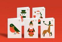 Flat design Christmas