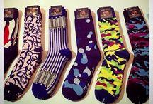 TUNNEL BEAT SOCKS / Graffiti designed sock line for men...