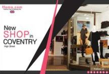 FFOMO'S COVENTRY STORE / Our second store located in Coventry high street