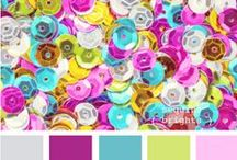 The Art of Color / Inspiration and ideas for mixing and matching color palettes and creating pleasing combinations.